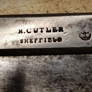H. Cutler dovetail saw