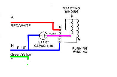 motorcct2 washing machine motor, help required [archive] woodwork forums 3 wire washing machine motor wiring diagram at readyjetset.co
